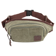 Scippis Gürteltasche Gold Coast Washed Canvas grün