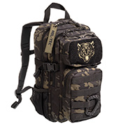 Mil-Tec Kinderrucksack US Assault Pack Kids 14 Liter MOLLE multitarn schwarz