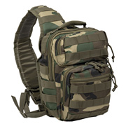Mil-Tec Rucksack One Strap Assault Pack small 10 Liter woodland