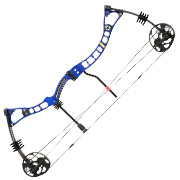 EK Axis Compoundbogen 30-70lbs blau