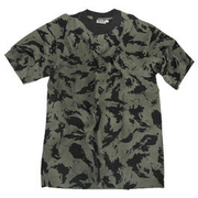 T-Shirt Tarnfarbe Night-Camo oliv