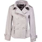 Brandit Upper East Coat, grau