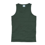 Tank Top Vintage Industries Bryden oliv