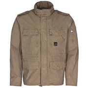 Vintage Industries Cranford Jacke dark khaki