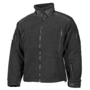 MFH Fleece Jacke Heavy Strike schwarz