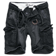 Brandit Shorts Shell Valley heavy schwarz