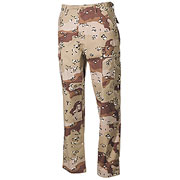 MFH Army Hose Ripstop BDU-Style 6-color-desert