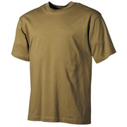 MFH US T-Shirt halbarm coyote