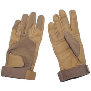 MFH Fingerhandschuhe Stripes coyote tan