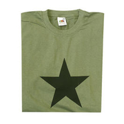 T-Shirt Black Star oliv