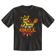 Rahmenlos T-Shirt King of the Grill