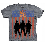 The Mountain T-Shirt Three Troops Oht-Hero