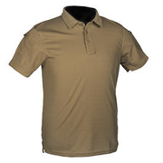 Mil-Tec Poloshirt Quick Dry Tactical kurzarm dark coyote