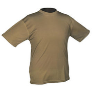 Mil-Tec T-Shirt Tactical Quick Dry dark coyote