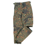 Mil-Tec US Zip-Off BDU Hose Kids flecktarn