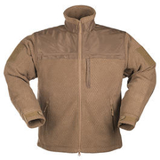 HexTac Fleecejacke Elite dark coyote