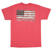 5.11 T-Shirt Bricks and Mortar Tee red heather