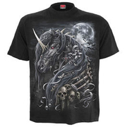 Spiral T-Shirt Dark Unicorn schwarz