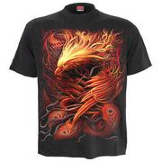 8dc8afd7f2bf9b Spiral T-Shirt Phoenix Arisen schwarz