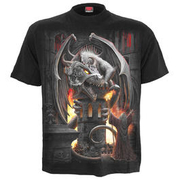 Spiral T-Shirt Keeper of the Fortress schwarz