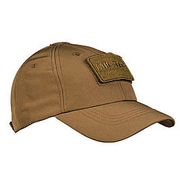 Mil-Tec Baseball Cap Softshell dark coyote