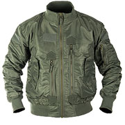 Mil-Tec US Tactical Fliegerjacke oliv