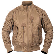 Mil-Tec US Tactical Fliegerjacke dark coyote