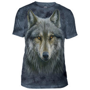 The Mountain T-Shirt Warrior Wolf