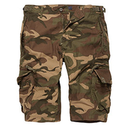 Vintage Industries Shorts Gandor woodland