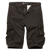 Vintage Industries Shorts Gandor schwarz