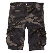 Vintage Industries Shorts Gandor darkcamo