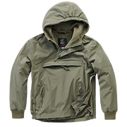 Brandit Windbreaker Kids oliv
