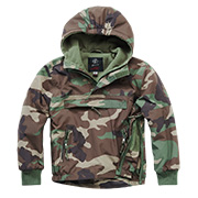 Brandit Windbreaker Kids woodland