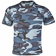Mil-Tec Kinder T-Shirt skyblue