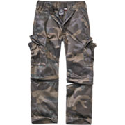 Brandit Kinder Zip-Off Kombi Hose darkcamo