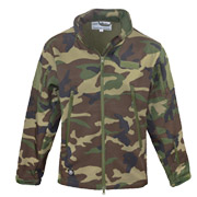 Mc Allister Softshelljacke TAC Style woodland