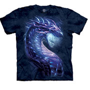 The Mountain T-Shirt Stormborn Dragon Fantasy