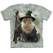 The Mountain T-Shirt Catdalf Pet Fantasy