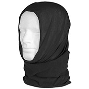 Mil-Tec Multifunktionstuch Headgear Fleece schwarz
