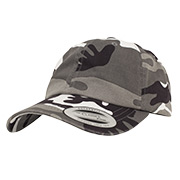 Baseball Cap Low Profile Camo Washed Cap urban