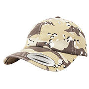 Baseball Cap Low Profile Camo Washed Cap 6-color desert
