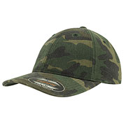 Baseball Cap Flexfit Garment washed camo
