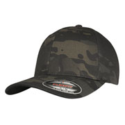 Flexfit Cap Black Multicam