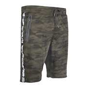 Mil-Tec Shorts Sweat Training Pants black woodland