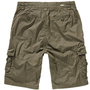 Brandit Shorts Ty Paper Touch oliv
