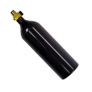 20 oz CO2 Aluflasche mit on/off Ventil