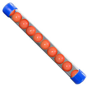New Legion Gummigeschosse Rubber Balls Kaliber .68 10 Stück orange