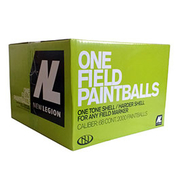 New Legion One Field Paintballs 2000er Karton Kal. .68 gelb