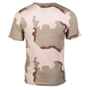 T-Shirt Tarnshirt 3-color-desert