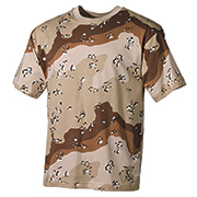 MFH T-Shirt halbarm 6-color-desert
